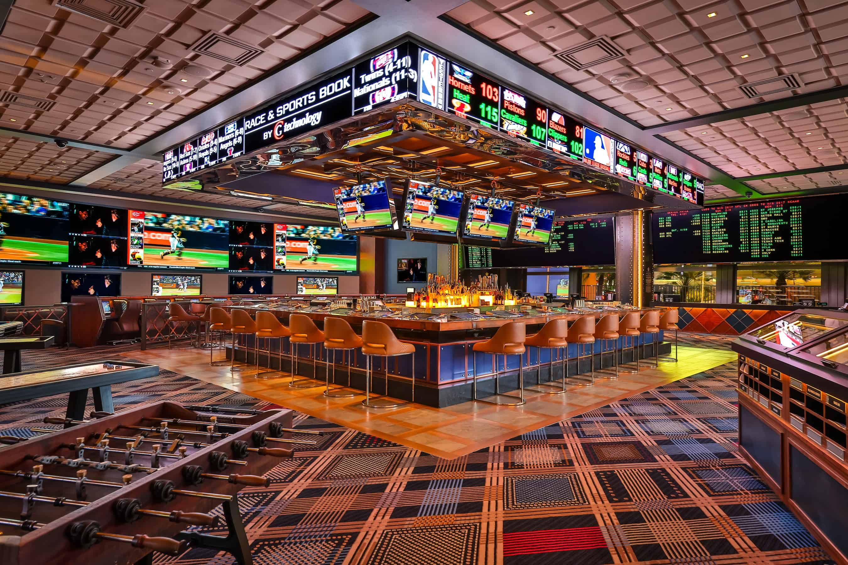 The Cosmopolitan of Las Vegas' Race and Sports Book powered by CG Technology
